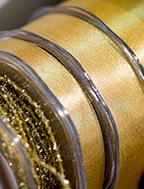 Nastri decorativi oro