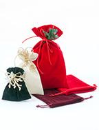 Sacchetti colorati natalizi